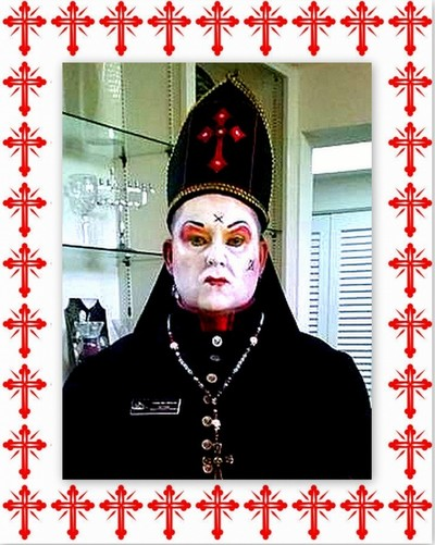 Father Ben Whitman of the San Diego Sisters of Perpetual Indulgence