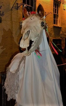 Mari Lwyd, the Welsh Skeleton-Mare